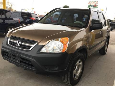 2004 Honda CR-V for sale at Fiesta Motors Inc in Las Cruces NM