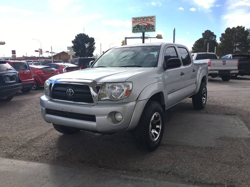 2005 Toyota Tacoma 4dr Double Cab Prerunner V6 Rwd Sb In