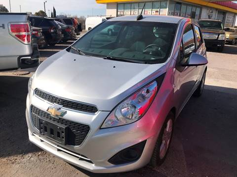 2015 Chevrolet Spark for sale at Fiesta Motors Inc in Las Cruces NM
