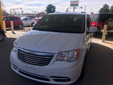 2014 Chrysler Town and Country for sale at Fiesta Motors Inc in Las Cruces NM