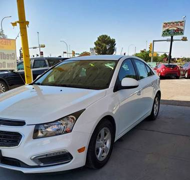 2016 Chevrolet Cruze Limited for sale at Fiesta Motors Inc in Las Cruces NM