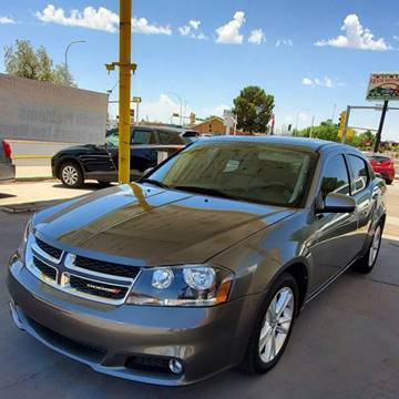 2013 Dodge Avenger for sale at Fiesta Motors Inc in Las Cruces NM