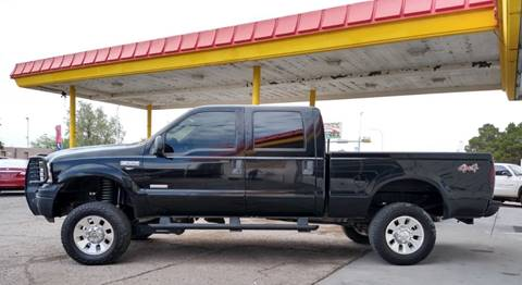 2005 Ford F-250 Super Duty for sale at Fiesta Motors Inc in Las Cruces NM