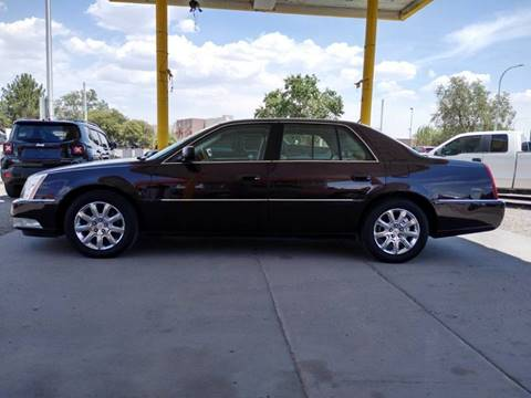 2008 Cadillac DTS for sale at Fiesta Motors Inc in Las Cruces NM