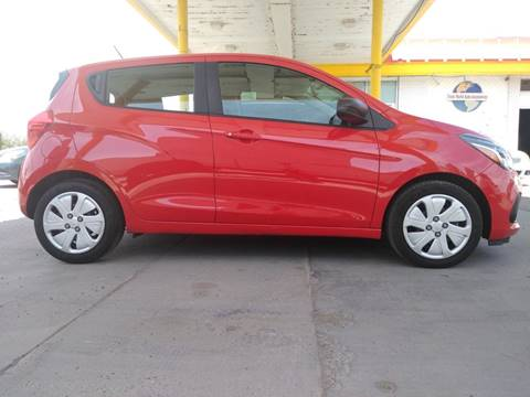 2017 Chevrolet Spark for sale at Fiesta Motors Inc in Las Cruces NM