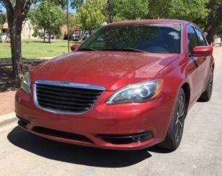 2014 Chrysler 200 for sale at Fiesta Motors Inc in Las Cruces NM