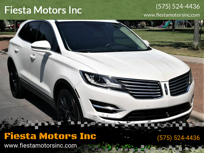 2017 Lincoln MKC for sale at Fiesta Motors Inc in Las Cruces NM