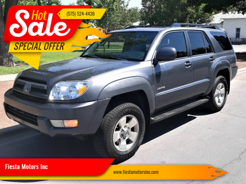 2005 Toyota 4Runner for sale at Fiesta Motors Inc in Las Cruces NM