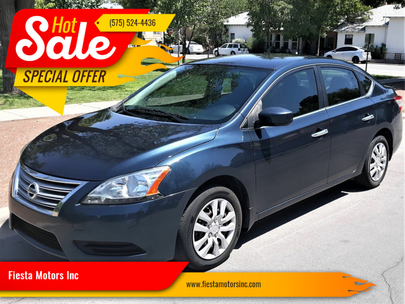 2015 Nissan Sentra for sale at Fiesta Motors Inc in Las Cruces NM