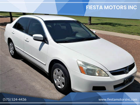 2007 Honda Accord for sale at Fiesta Motors Inc in Las Cruces NM