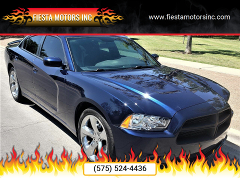 2014 Dodge Charger for sale at Fiesta Motors Inc in Las Cruces NM