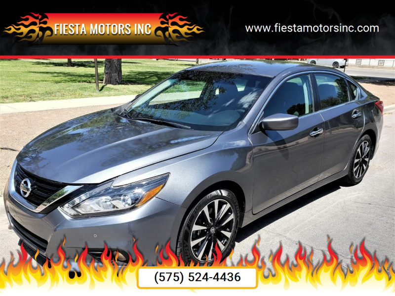 2018 Nissan Altima for sale at Fiesta Motors Inc in Las Cruces NM