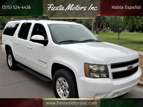 2011 Chevrolet Suburban for sale at Fiesta Motors Inc in Las Cruces NM