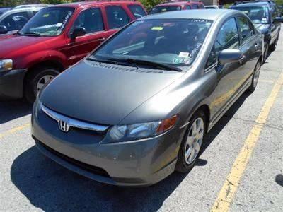 2007 Honda Civic LX 4dr Sedan (1.8L I4 5A) - Penn Hills PA
