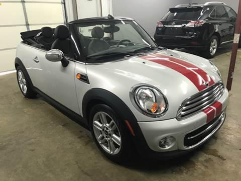 2014 MINI Convertible for sale at Mulder Auto Sales in Portage MI