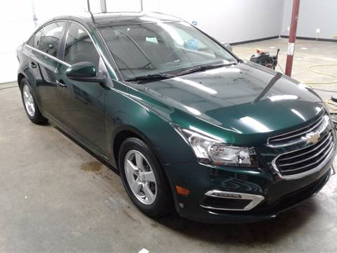 2015 Chevrolet Cruze for sale at Mulder Auto Sales in Portage MI