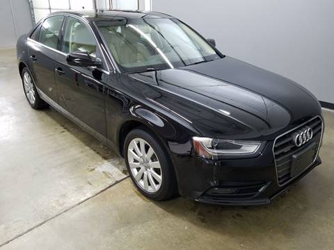 2013 Audi A4 for sale at Mulder Auto Sales in Portage MI