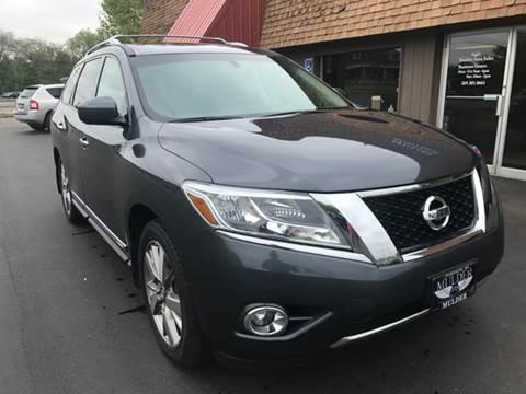 2013 Nissan Pathfinder for sale at Mulder Auto Sales in Portage MI