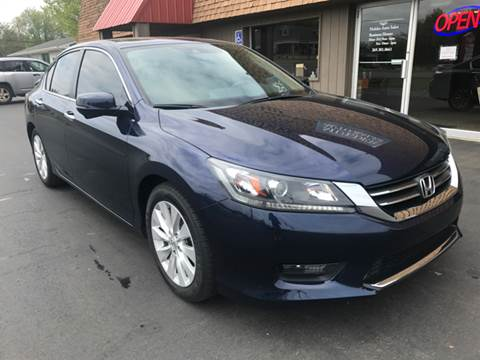 2015 Honda Accord for sale at Mulder Auto Sales in Portage MI