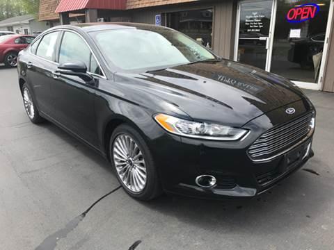 2014 Ford Fusion for sale at Mulder Auto Sales in Portage MI