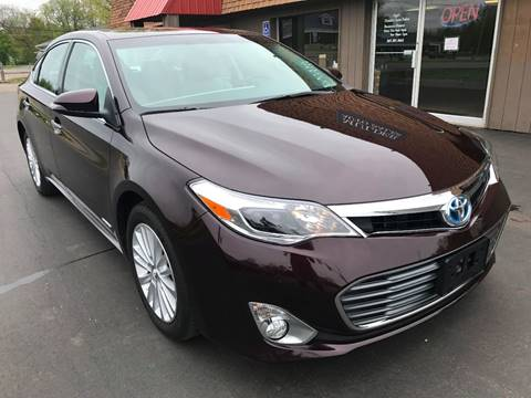 2015 Toyota Avalon Hybrid for sale at Mulder Auto Sales in Portage MI