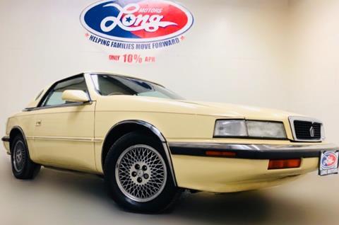 1990 Chrysler TC for sale in Austin, TX