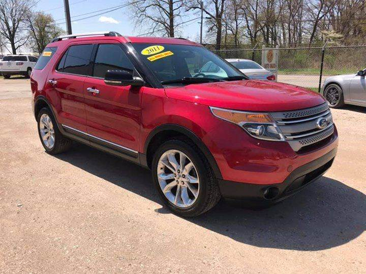 2011 Ford Explorer for sale at ESM Auto Sales in Elkhart IN
