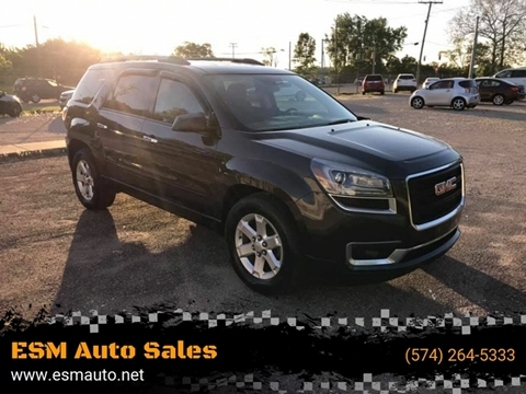 2013 GMC Acadia for sale in Elkhart, IN