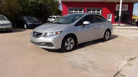 2014 Honda Civic for sale at 6 D's Auto Sales MANNFORD in Mannford OK