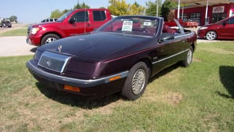1989 Chrysler Le Baron for sale in Mannford, OK