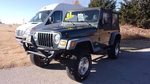 2002 Jeep Wrangler for sale in Mannford, OK