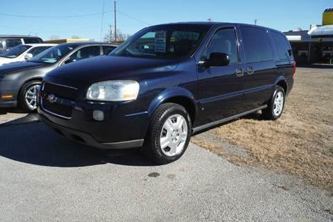 2007 Chevrolet Uplander for sale at 6 D's Auto Sales MANNFORD in Mannford OK