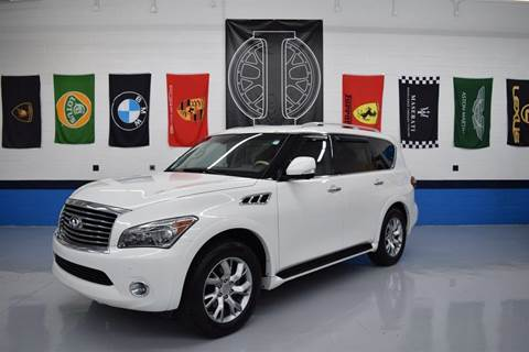 2011 Infiniti QX56 for sale at Iconic Auto Exchange in Concord NC