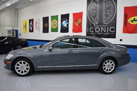2007 Mercedes-Benz S-Class for sale at Iconic Auto Exchange in Concord NC
