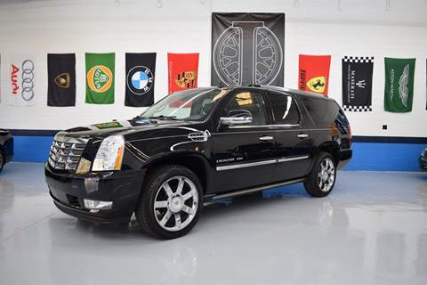 2011 Cadillac Escalade ESV for sale at Iconic Auto Exchange in Concord NC