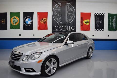 2011 Mercedes-Benz E-Class for sale at Iconic Auto Exchange in Concord NC