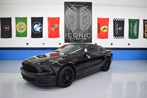 2013 Ford Mustang for sale at Iconic Auto Exchange in Concord NC