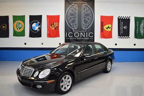2009 Mercedes-Benz E-Class for sale at Iconic Auto Exchange in Concord NC