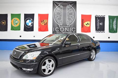 2005 Lexus LS 430 for sale at Iconic Auto Exchange in Concord NC