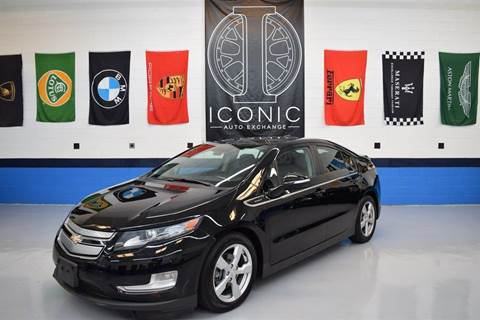 2012 Chevrolet Volt for sale at Iconic Auto Exchange in Concord NC