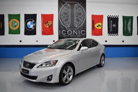2011 Lexus IS 350 for sale at Iconic Auto Exchange in Concord NC