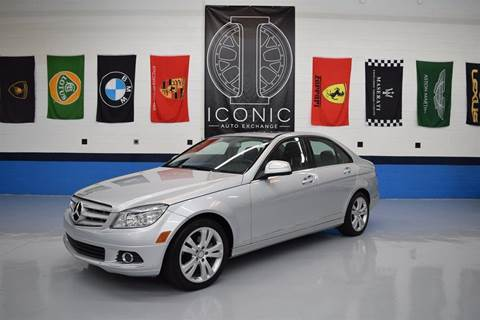 2009 Mercedes-Benz C-Class for sale at Iconic Auto Exchange in Concord NC
