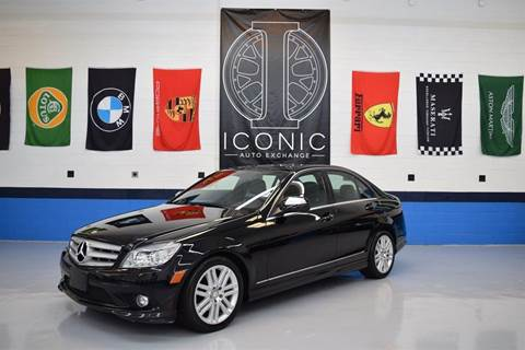 2008 Mercedes-Benz C-Class for sale at Iconic Auto Exchange in Concord NC