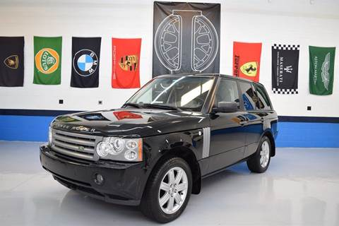 2008 Land Rover Range Rover for sale at Iconic Auto Exchange in Concord NC