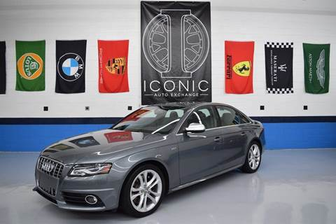 2012 Audi S4 for sale at Iconic Auto Exchange in Concord NC