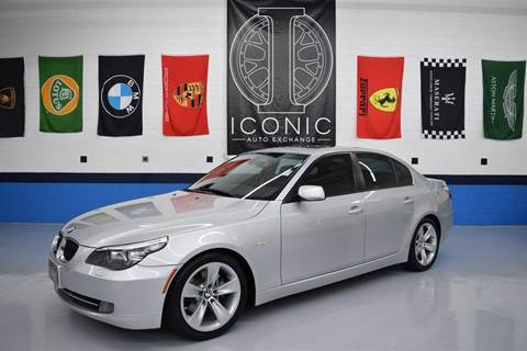 2008 BMW 5 Series for sale at Iconic Auto Exchange in Concord NC