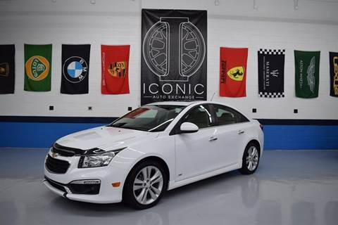 2015 Chevrolet Cruze for sale at Iconic Auto Exchange in Concord NC
