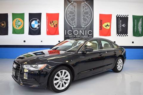 2013 Audi A6 for sale at Iconic Auto Exchange in Concord NC