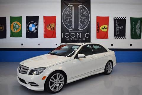 2011 Mercedes-Benz C-Class for sale at Iconic Auto Exchange in Concord NC
