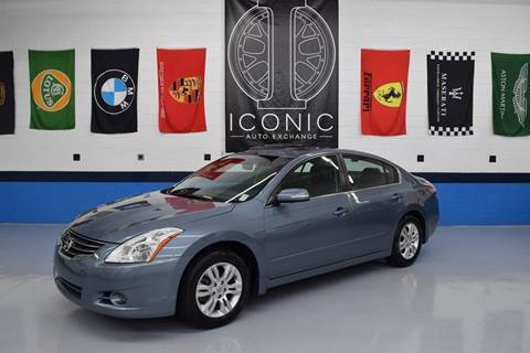 2012 Nissan Altima for sale at Iconic Auto Exchange in Concord NC